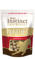 Instinct Raw Boost Munchies Beef Freeze-Dried Dog Treat