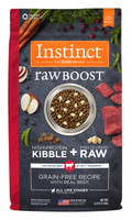 Instinct Raw Boost® Grain-Free Recipe with Real Beef Formula Dry Dog Food
