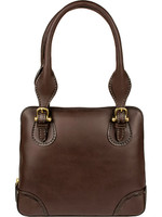 Scully Pebbled handbag brown