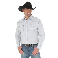 Wrangler Men's Advanced Comfort Competition Shirt - Palid