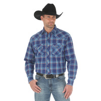 Wrangler Men's Advanced Comfort Competition Shirt - Plaid