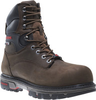 "Wolverine Men's Nation 8"" Waterproof Insulated Steel Toe - Dark Brown"