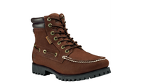 Timberland Men's Oakwell 7-Eye Moc Toe Boots - Brown