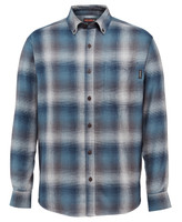 Wolverine Men's Hammond Long Sleeve  Flannel - Blue