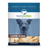 Bark Lamb Ears 10pk Dog Treat