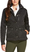 Ariat Women's  Cornet Jacket Black Quilted
