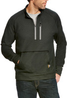 Ariat Men's Rebar 1/4 Zip Black