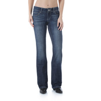 Wrangler Women's Boot Cut dark Wash