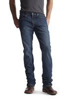 Ariat Men's Rebar M5 Slim Jean Carbine -Dark Wash