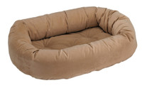 Bowser's Donut Bed Donut Bed Saddle - Khaki