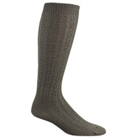 Wigwam Women's Cable Knee High Socks - Brown