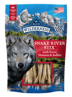 Blue Wilderness Snake River Stix dog Treat