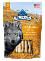 Blue Wilderness Flatland Stix dog Treat