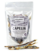 Icelandic Capelin Whole Fish Dog Treat 2.5-oz Bag