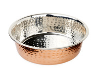 Buddy's Line Premier Hammered w/ Copper Finish Bowl