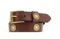 Nocona Kids Shotshell Belt -  Brown