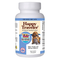 ARK Naturals Happy Traveler Dog & Cat Calming Aid 30ct