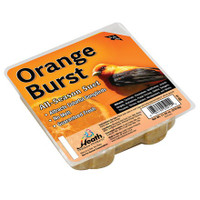 Orange Burst Suet Cake