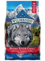 Blue Wilderness Snake River Grill with Trout, Venison & Rabbit Dry Dog Food