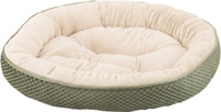 Sleep Zone Checkerboard Napper 20″ Pet Bed Sage
