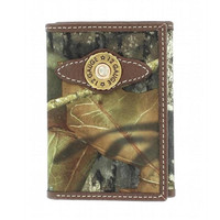 Mossy Oak Nylon Trifold Wallet