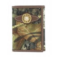 Mossy Oak Nylon Trifold Wallet