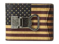 USA Leather Multi Money Clip