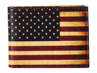 USA Leather Multi Bifold Wallet