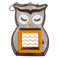 Owl Suet & Seed Bird Feeder
