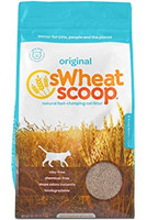 Swheat Scoop Natural Fast-Clumping Wheat Cat Litter 36Lbs
