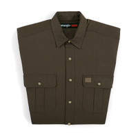 Wrangler Men's Riggs Workerwear Woodsman Work Shirt - Olive