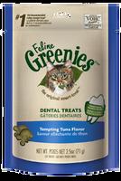 Feline Greenies Dental Treats Tempting Tuna Flavor