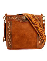 Blazin Roxx Women's Purse Ivy Crossbody Concealed Weapon  Womens Handbag Tan
