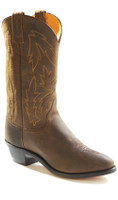 Jama Old West Women's Apch Cowboy Boots - Dark Oil