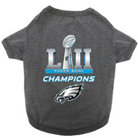 NFL Philadelphia Eagles Super Bowl LII Championss Dog Jersey