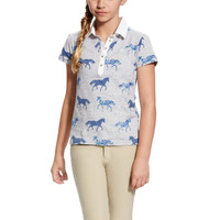 Ariat Askill Polo Trot Print