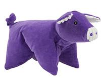 Knot-Less Squooshie Pig Dog Toy