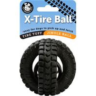 Jingle X-Tire Ball Dog Toy