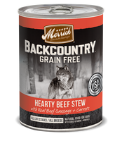 Merrick Backcountry Grain Free - Hearty Beef Stew Canned Dog Food
