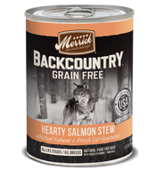 Merrick Backcountry Grain Free - Hearty Salmon Stew Canned Dog Food