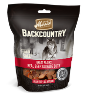 Merrick Backcountry Great Plains Real Beef Sausage Cuts Dog Treat