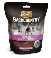 Merrick Backcountry Great Plains Real Steak Patties Dog Treats