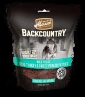 Merrick Backcountry Wild Fields Real Turkey + Sweet Potato Patties Dog Treats