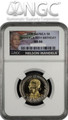 Mandela MS 66 NGC New Label Sample Image