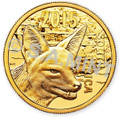 2015 Black Backed Jackal - Common Obverse. Official S.A.Mint Product Image.