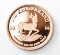Krugerrand Proof 1/10 Oz Gold Coin 2016 - Reverse