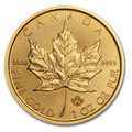 1oz Canadian Maple Leaf