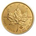 1oz Canadian Maple Leaf