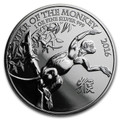 2016 Great Britain 1 oz Silver Year of the Monkey