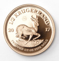 Krugerrand Proof 1/2 Oz Gold Coin 2017 - Reverse